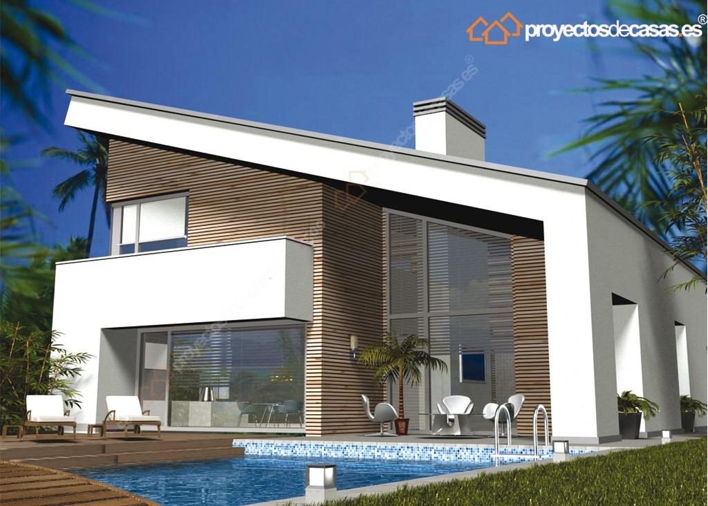 Descubre casa unifamiliar moderna casa lux proyectosdecasas dise amos y construimos casas en - Casas unifamiliares planos ...