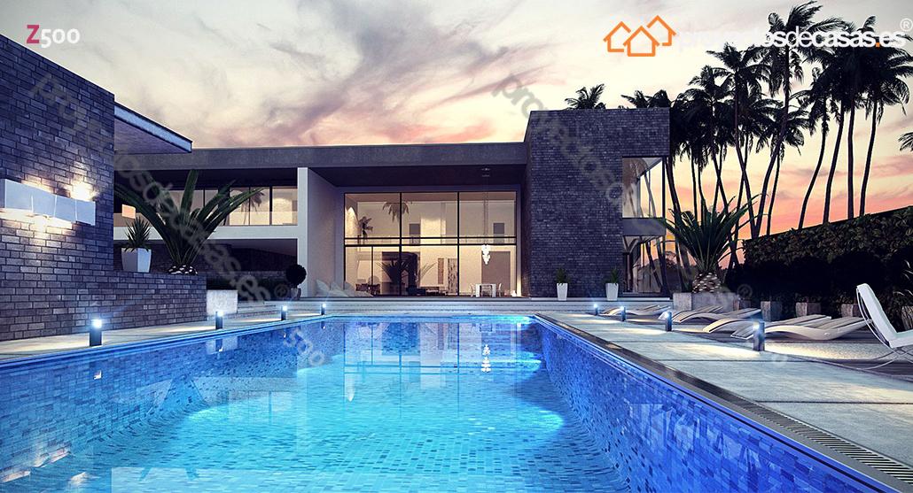 Proyectosdecasas dise amos y construimos casas en toda - Casas de madera de lujo en espana ...