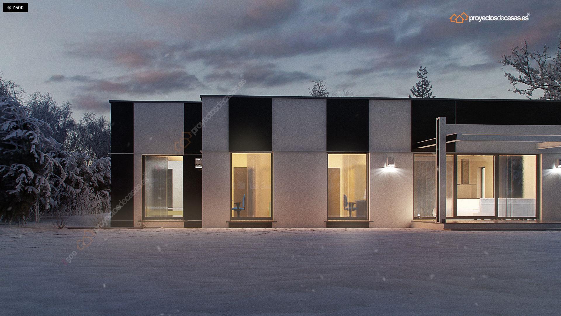 Proyectos de casas modernas trendy proyecto anterior - Proyectos de casas rusticas ...