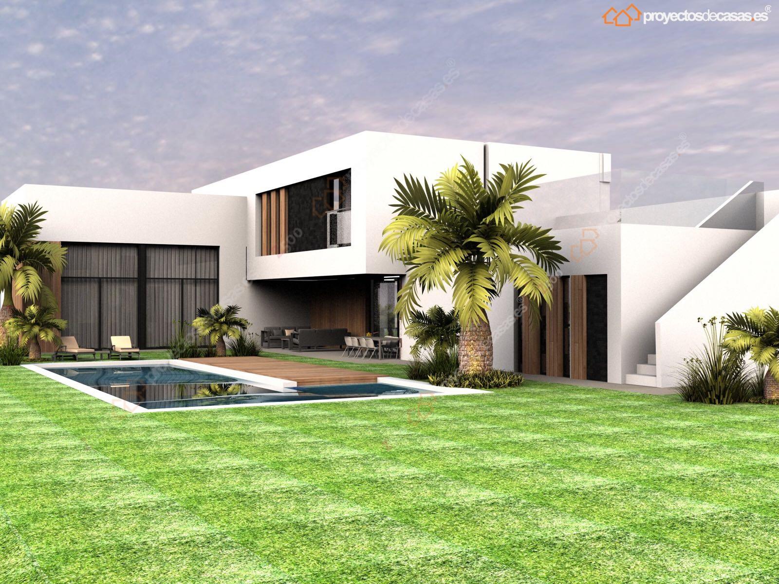 Proyectos de casas dise o y construcci n de casas modernas proyectosdecasas dise amos y - Casas en majadahonda ...