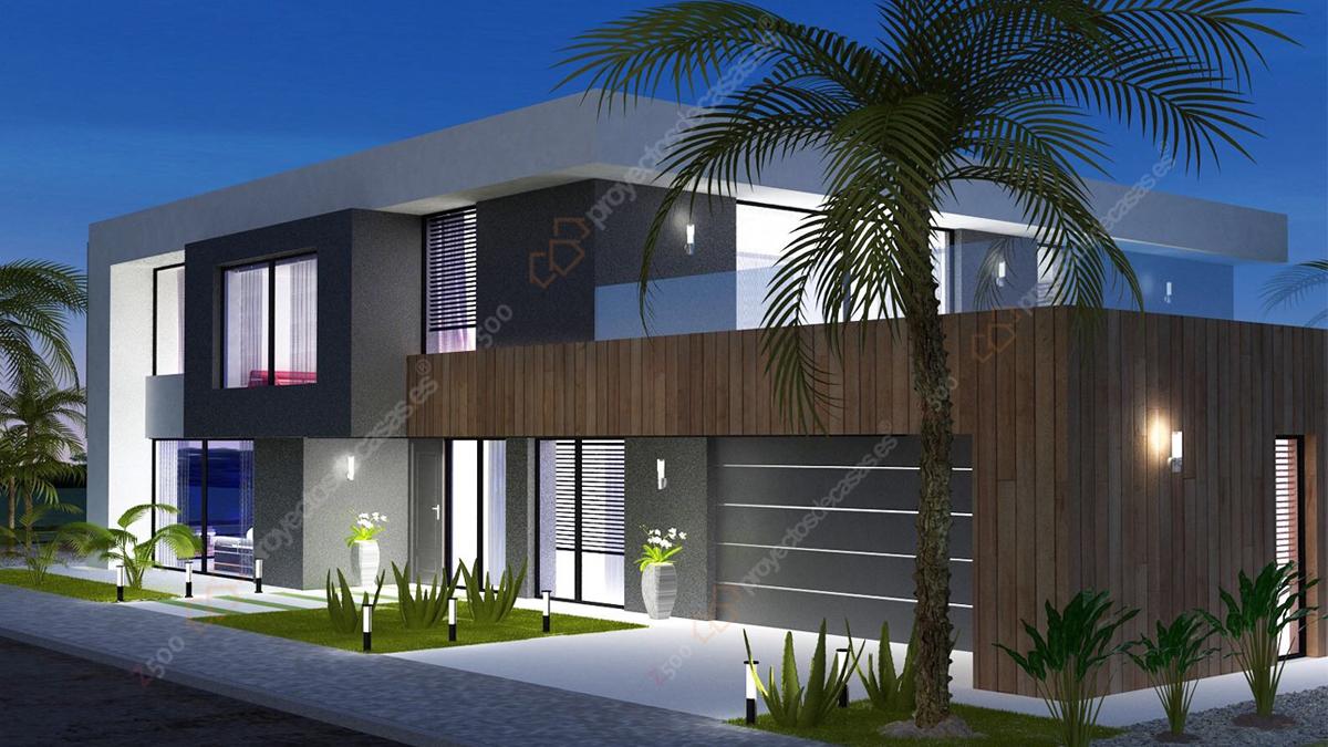 Casas americanas de lujo dise o moderno para el hogar - Casas modulares de lujo ...
