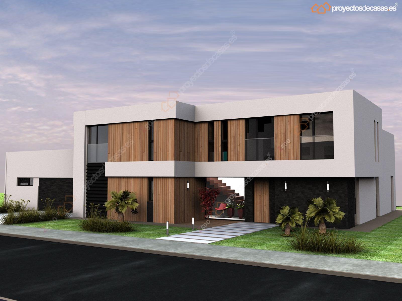 Proyectos de casas dise o y construcci n de casas for Plantas de viviendas modernas