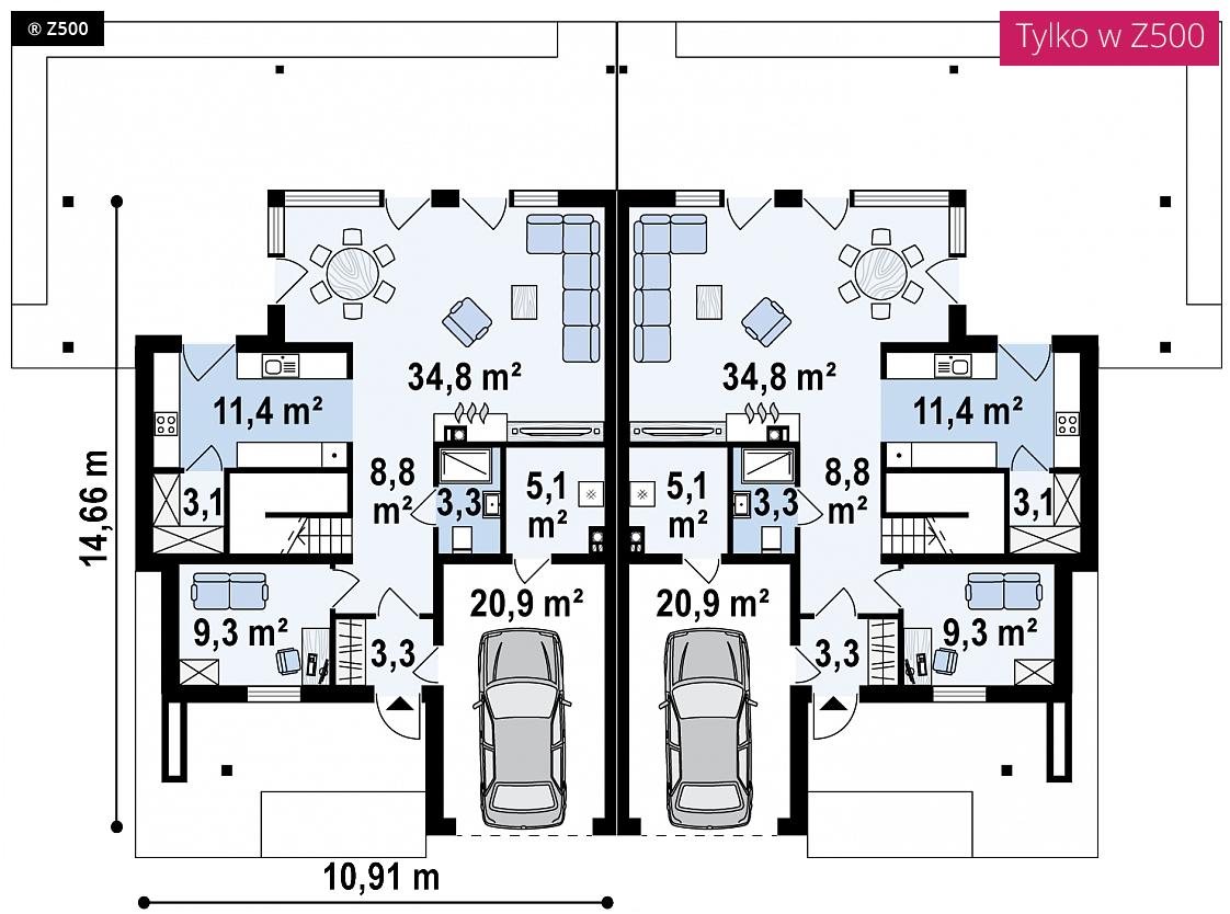 Planos de casas de planta baja elegant plano casa blanca en coin with planos de casas de planta - Planos casas planta baja ...