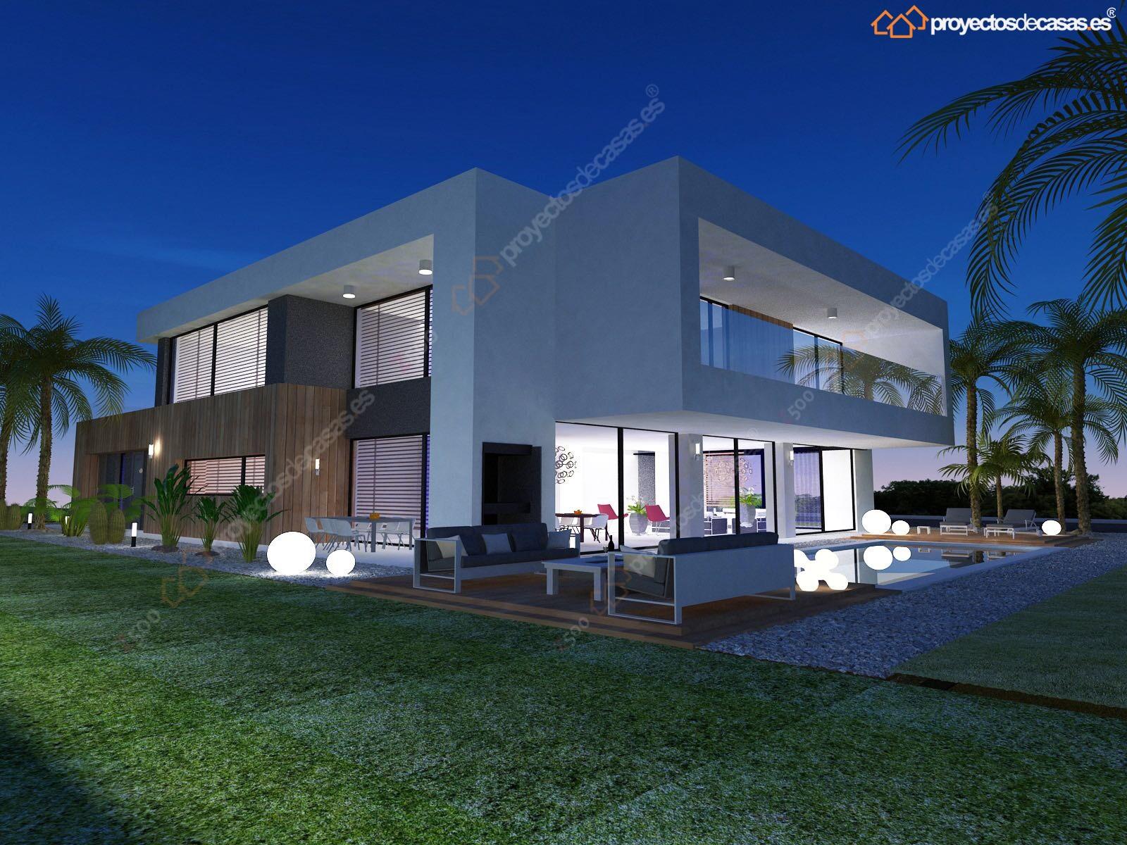 Casa de lujo barcelona proyectos de casas - Casas de lujo modernas ...