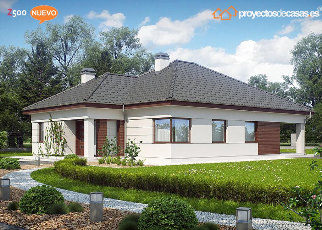 Proyectos de casas casa moderna proyectosdecasas - Casas prefabricadas en pontevedra ...