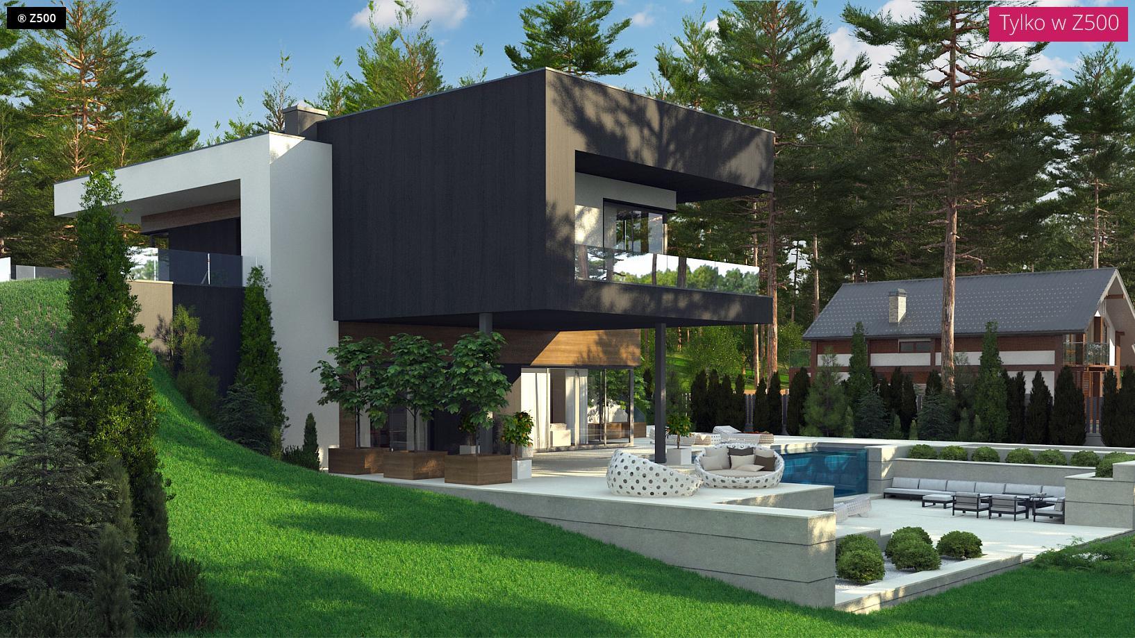 Proyectos de casas casa coru a de dise o moderna - Casas en a coruna ...