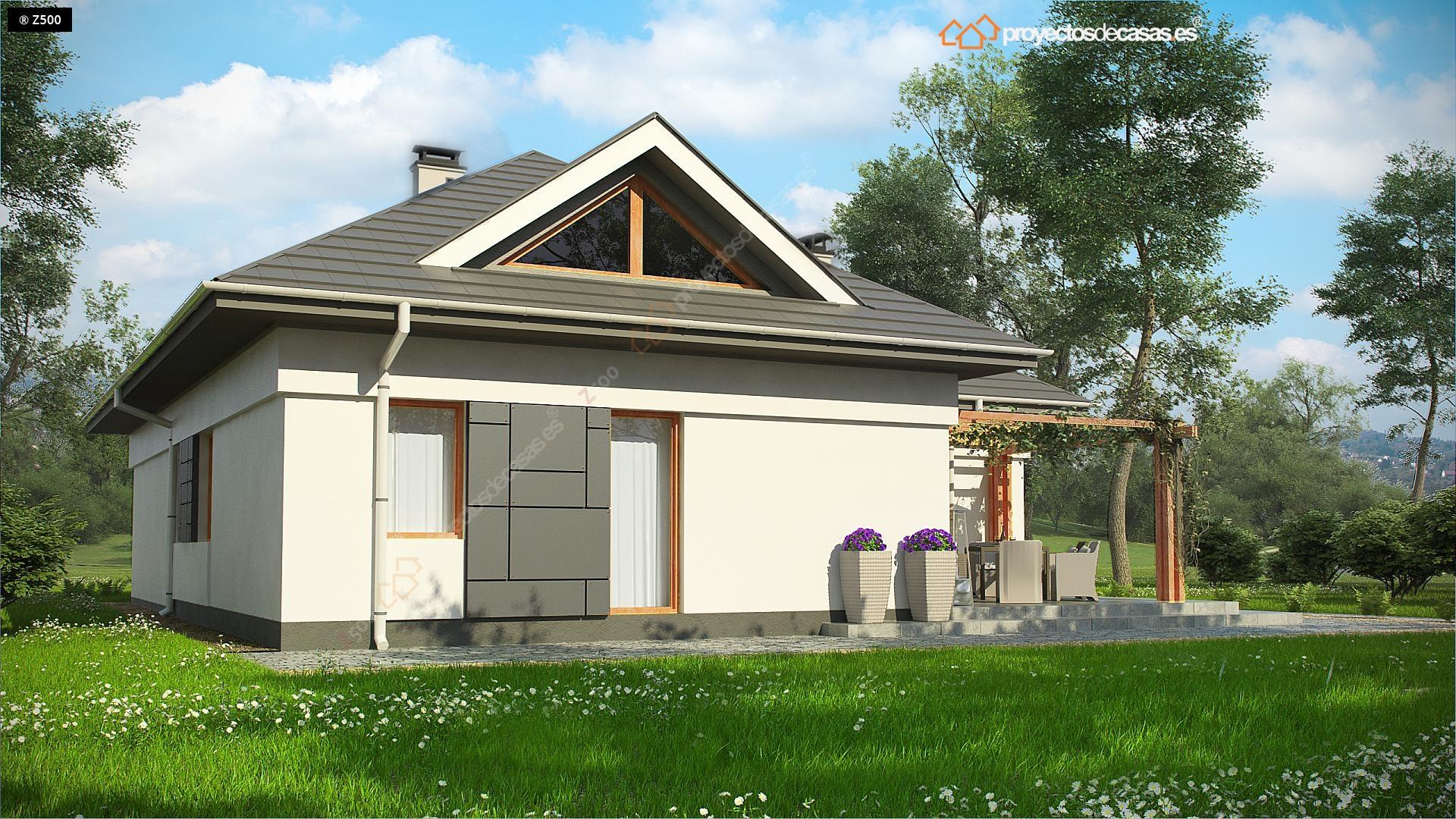 Proyectos de casas casa tradicional proyectosdecasas - Casas con buhardilla ...
