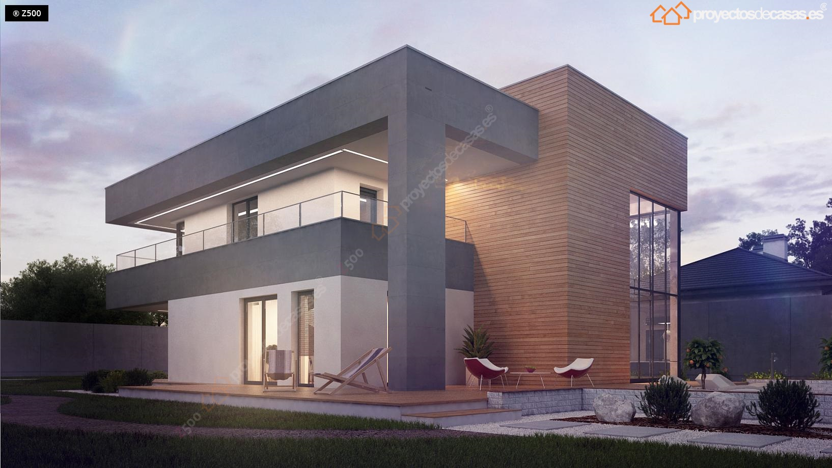 Casas modernas dise o y construcci n casa alicante Casas modernas precio construccion