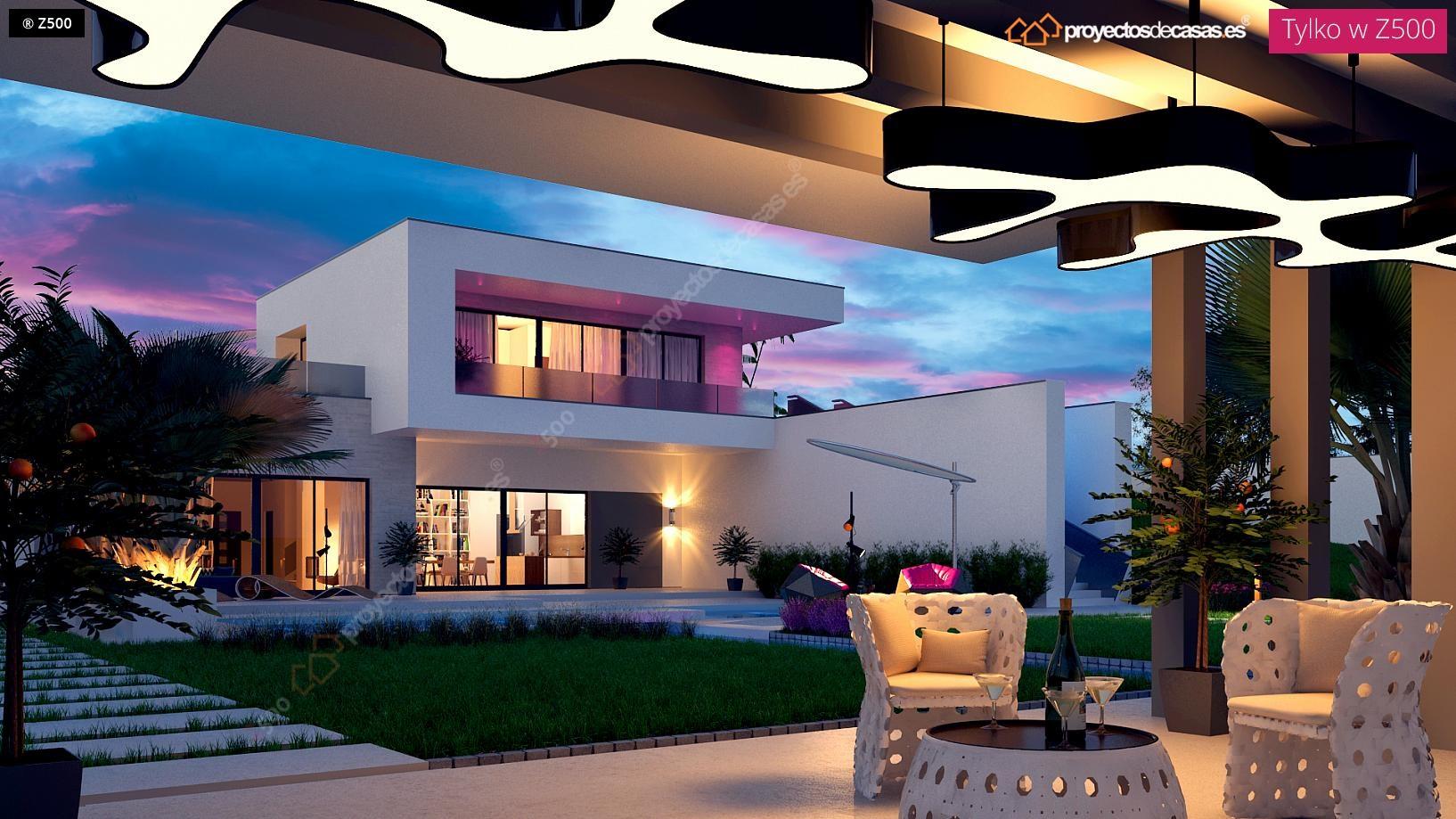 Proyectos de casas casa moderna con piscina for Casa moderna 2017 udine orari