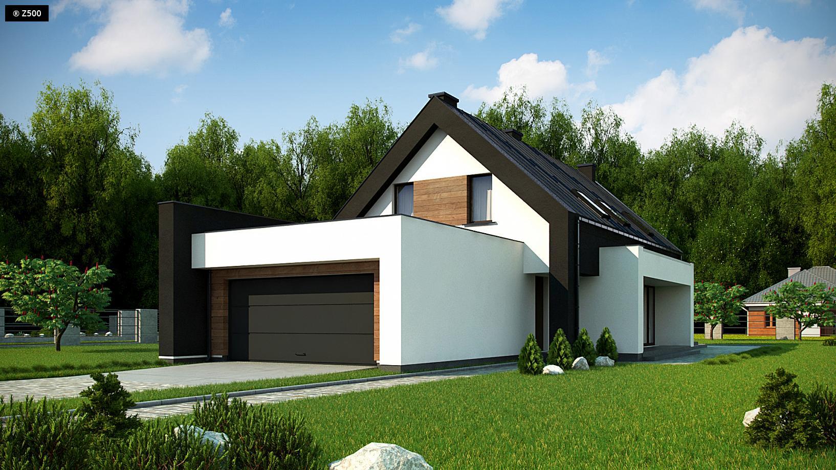 Proyectos de casas casa navacerrada de dise o moderna for Casas modernas granada