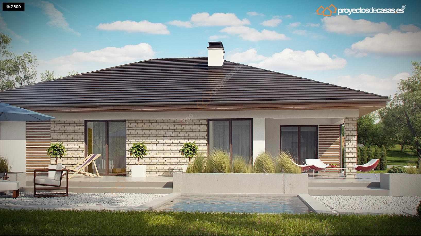 Proyectos de casas casa tradicional proyectosdecasas for Distribucion de una casa de una planta