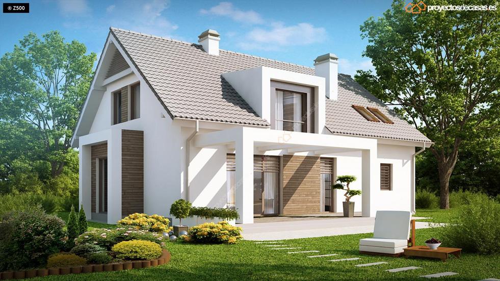Proyectosdecasas dise amos y construimos casas en toda - Casas con buhardilla ...