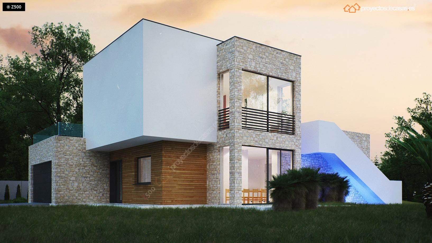 Proyectos de casas casa de lujo con piscina y sauna proyectosdecasas dise amos y - Casas en salou ...