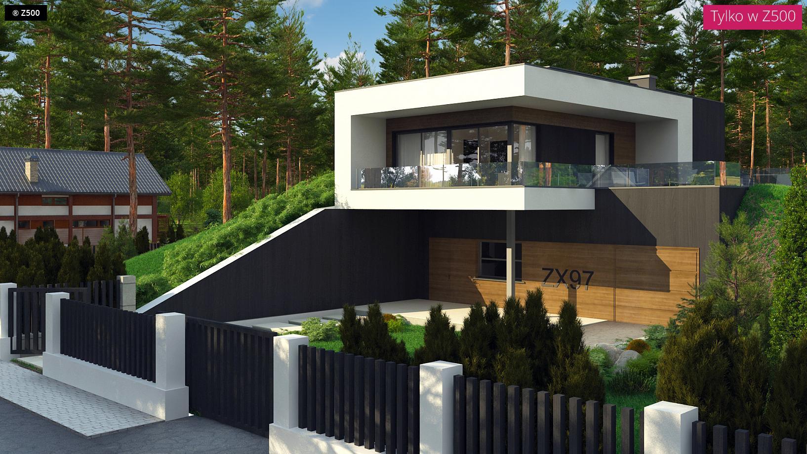 Proyectos de casas casa coru a de dise o moderna for Proyectos casas modernas