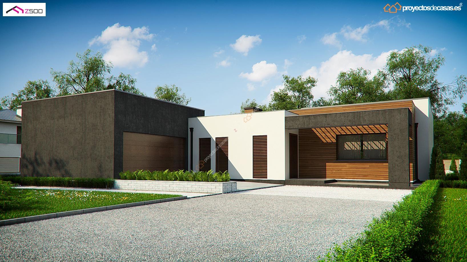 Casa unifamiliar de 1 planta proyectos de casas for Casas con planos y fotos
