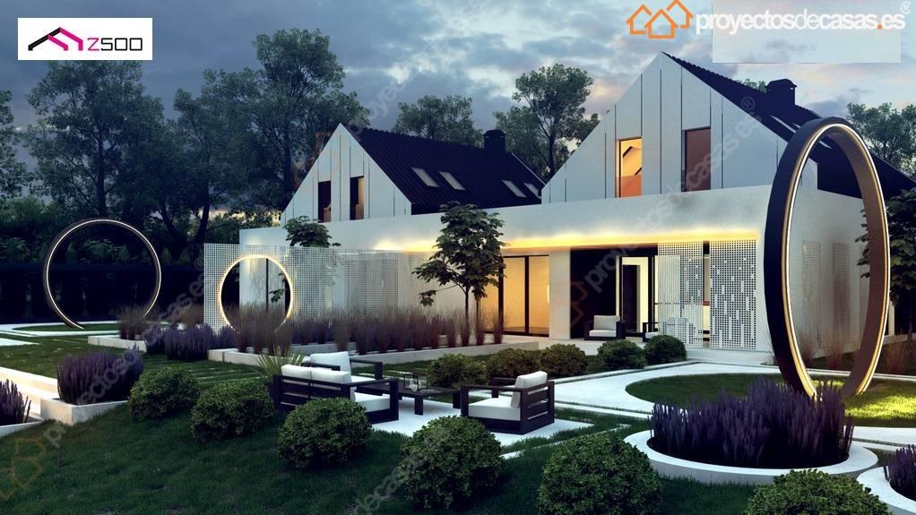 Proyectosdecasas dise amos y construimos casas en toda - Casas americanas en espana ...