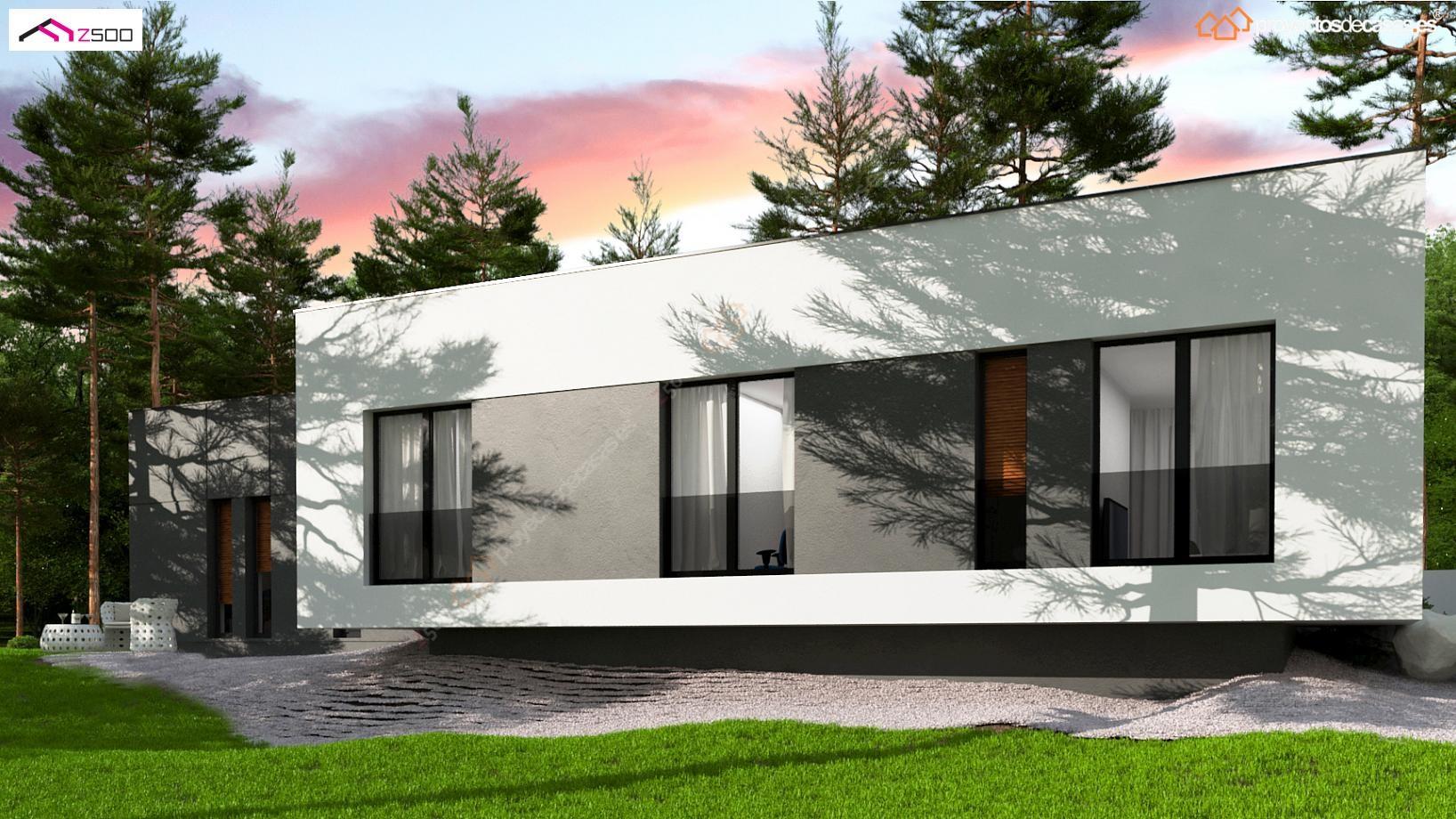 Proyecto de casa minimalista - Casas minimalistas en espana ...