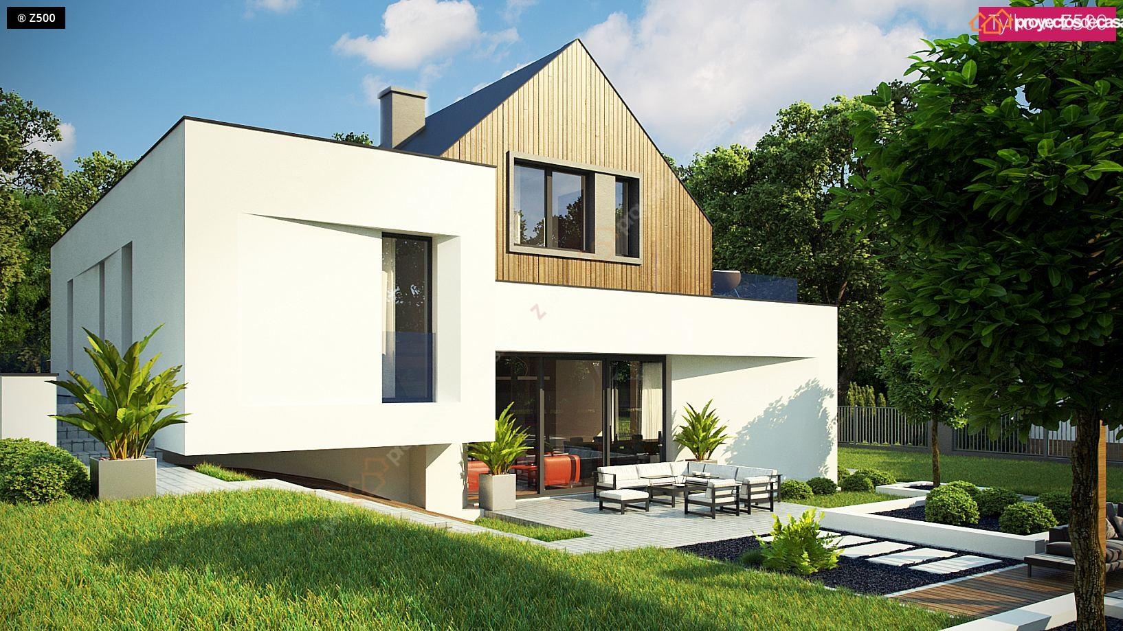 Proyectos De Casas Casa Moderna Con Piscina