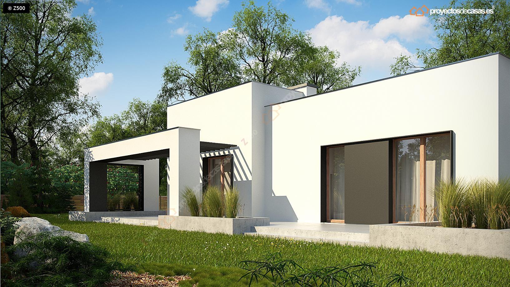 Proyectos De Casas Casa Moderna Aldaya Con Garaje