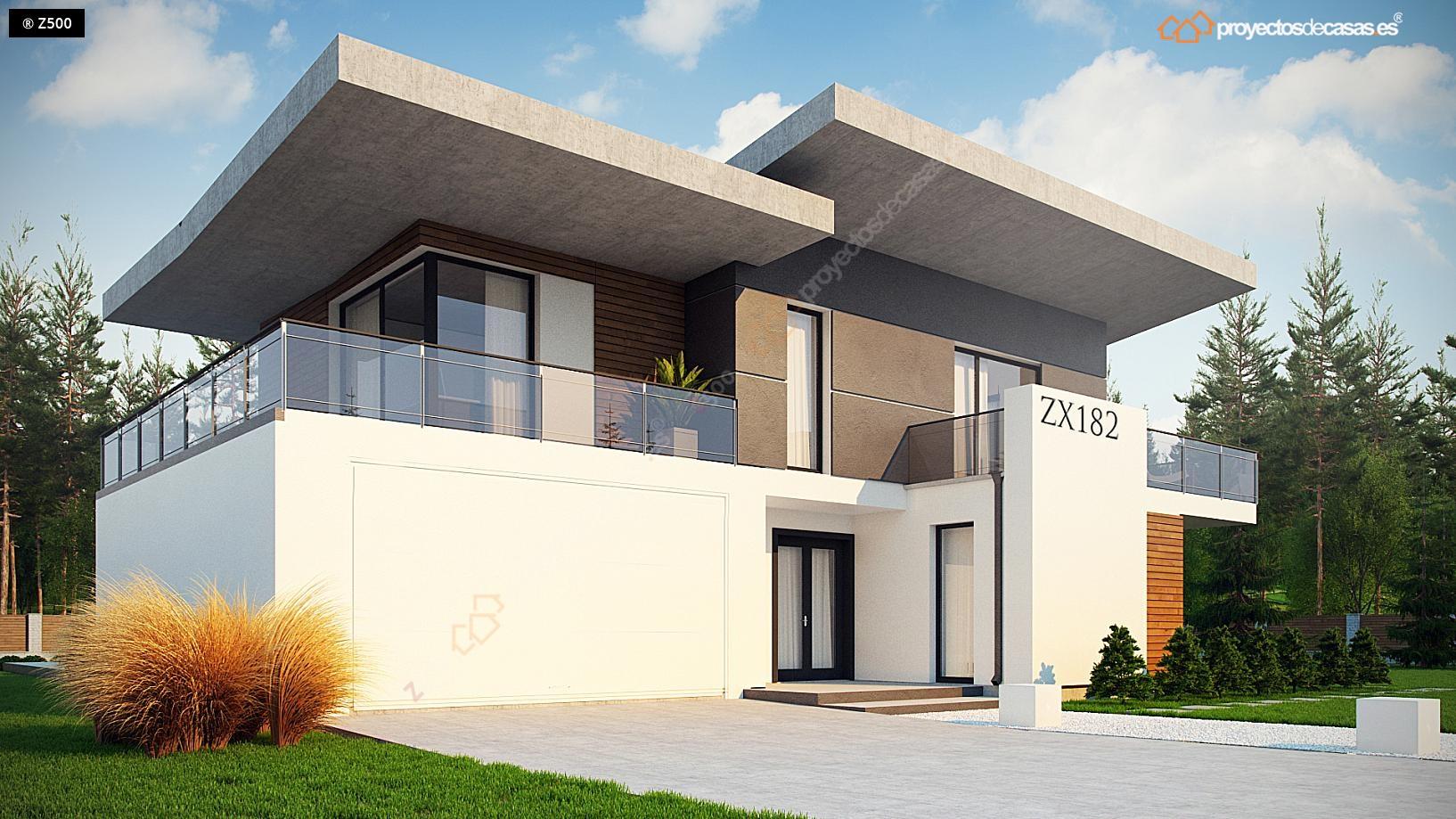 Proyectos de casas casa de lujo con piscina for Casa de diseno guadalajara