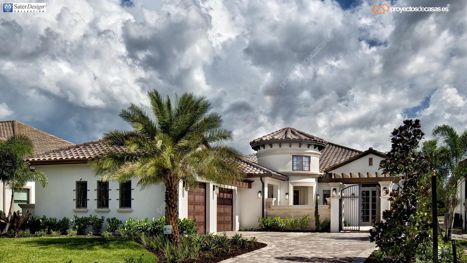 Proyectos de casas marbella casa de lujo estilo toscana - Casas americanas en espana ...