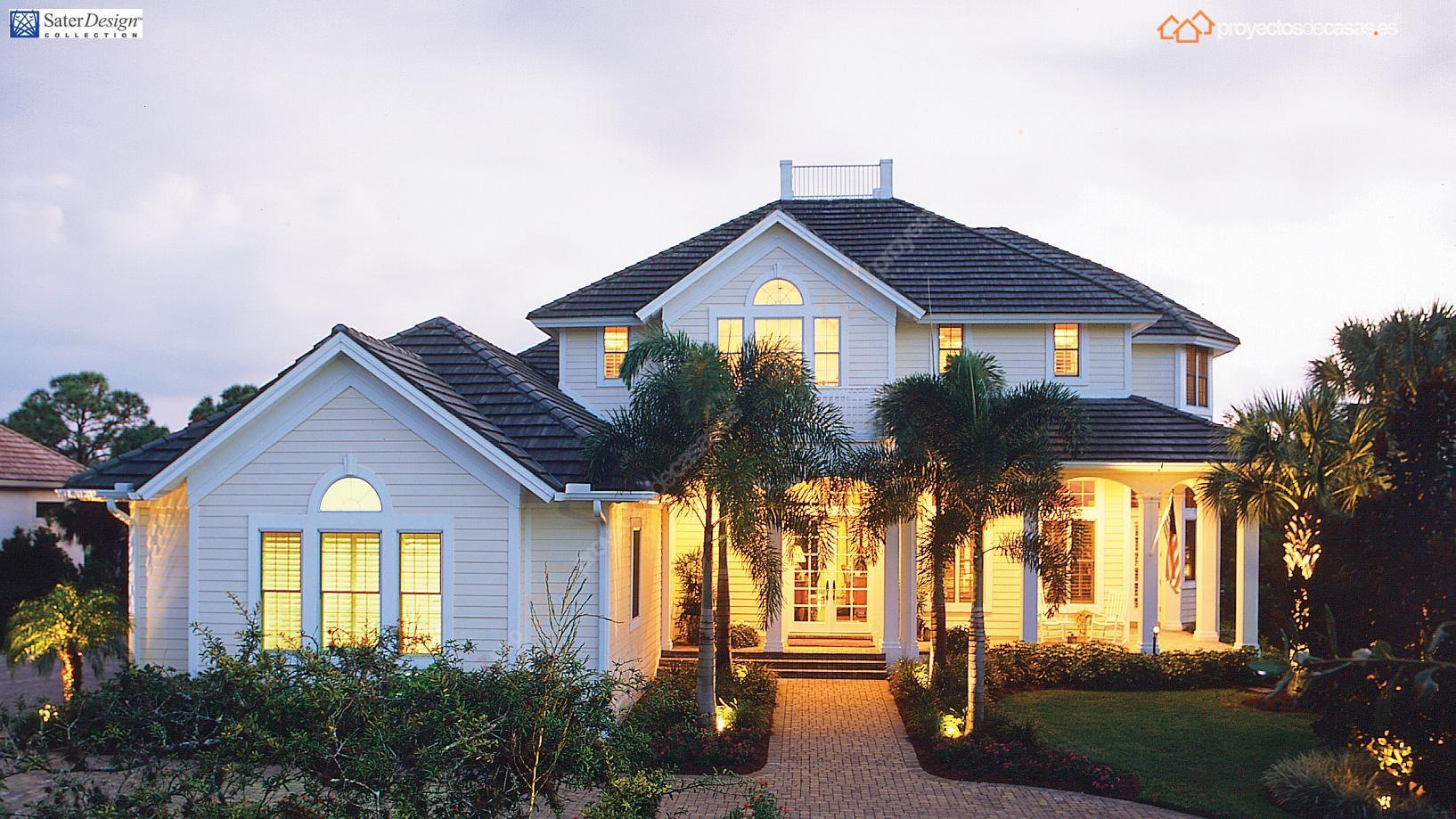 Proyectosdecasas dise amos y construimos casas en toda for Planos de casas norteamericanas