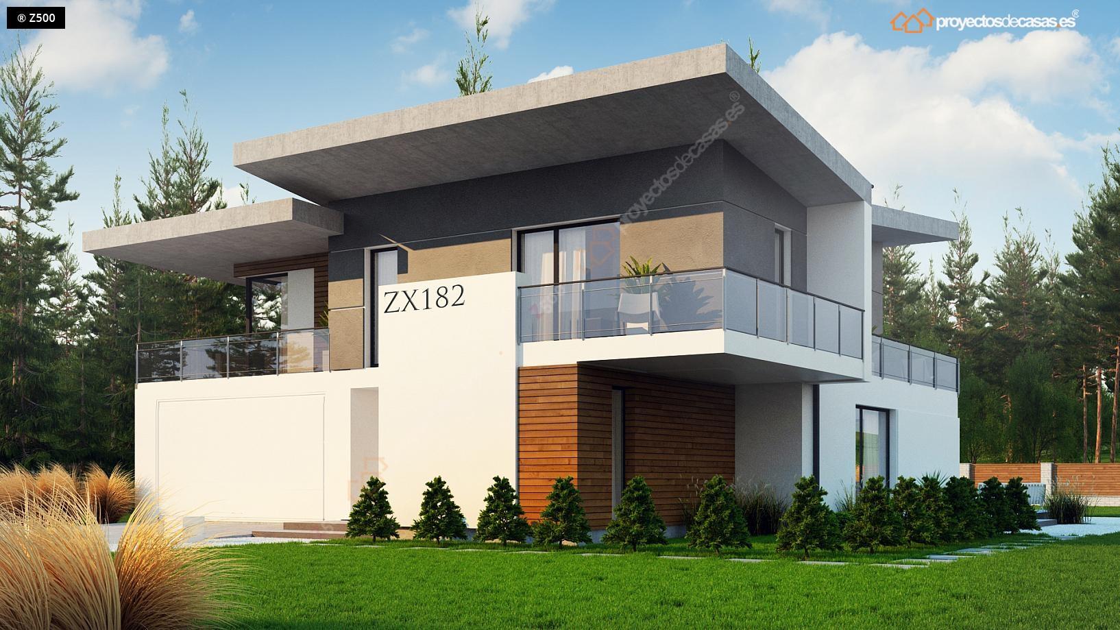 Proyectos de casas casa de lujo con piscina for Casas de lujo en madrid