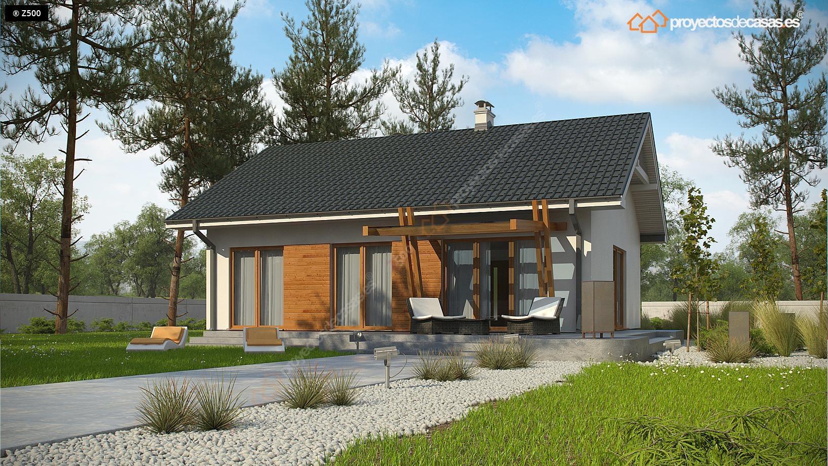 Proyectos de casas casa tradicional proyectosdecasas - Constructores de casas de madera ...