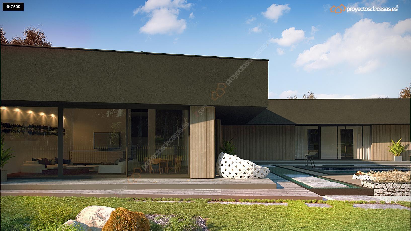 Proyectos de casas casa minimalista proyectosdecasas for Casa minimalista villahermosa