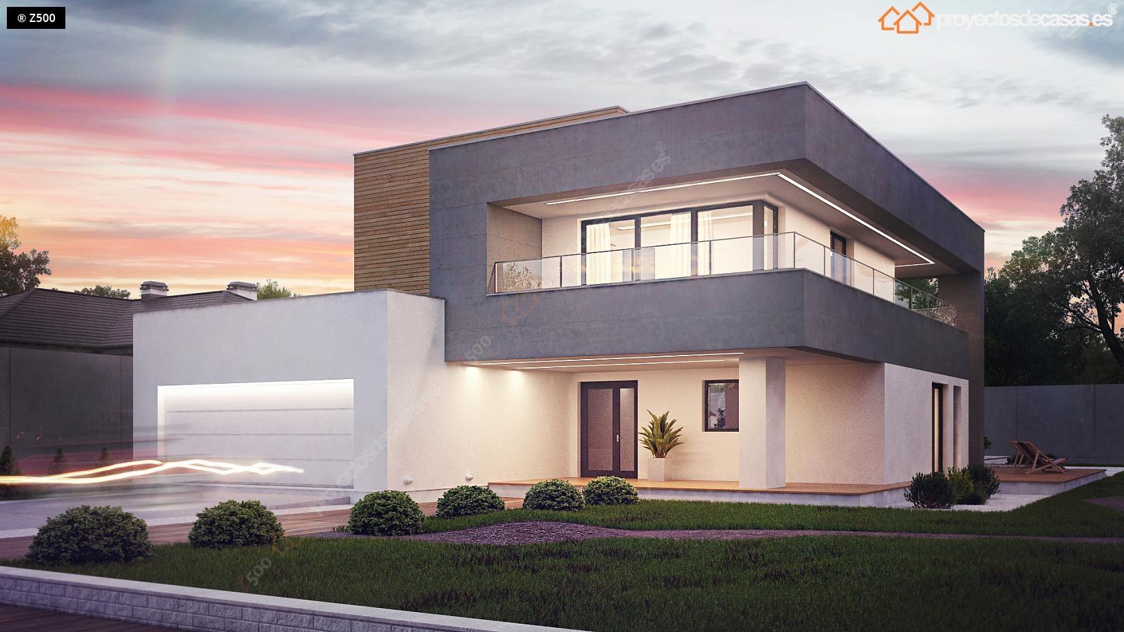 Casas modernas dise o y construcci n casa alicante for Proyectos casas modernas