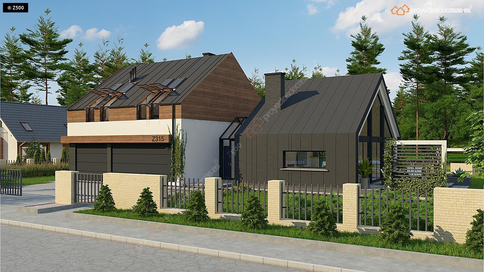 Proyectos de casas la forma m s inteligente de conseguir for Casa moderna 80m2