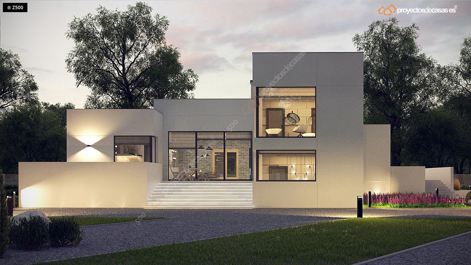 Proyectosdecasas dise amos y construimos casas en toda for Casas modernas unifamiliares