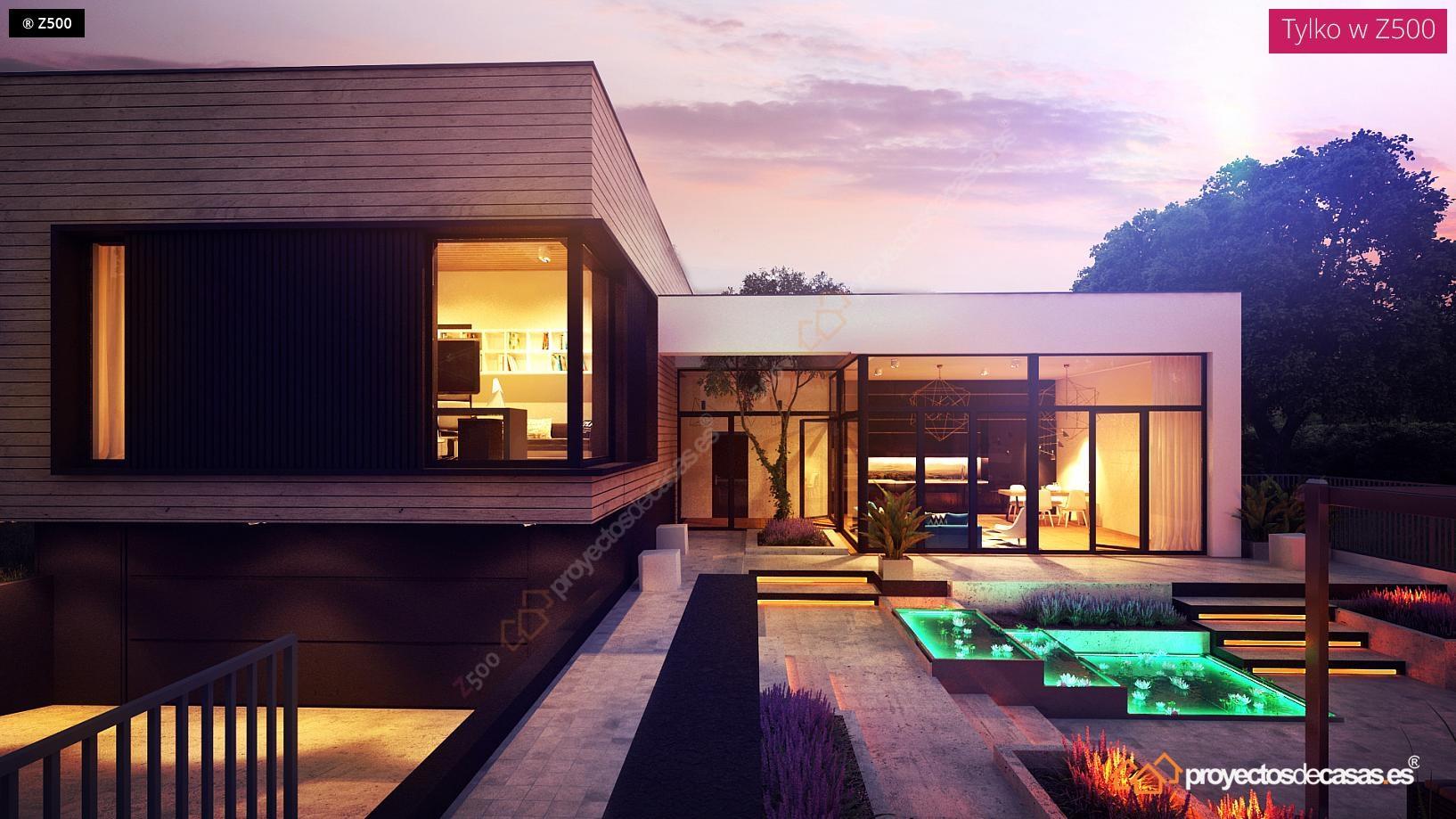 Proyectosdecasas dise amos y construimos casas en toda espa a - Fotos de casas en forma de l ...