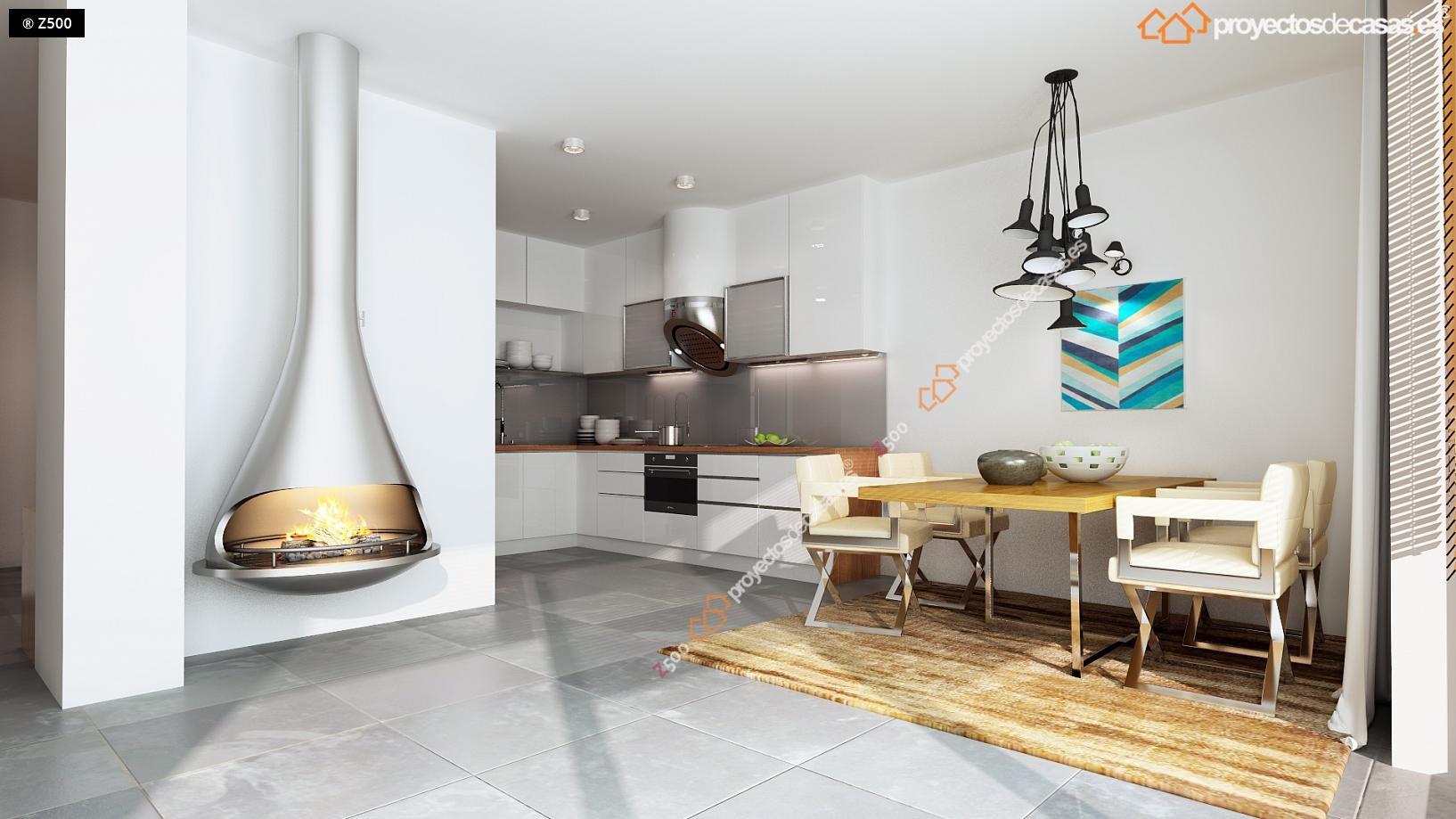 Proyectos de Casas | Boadilla de Monte Casa Adosada Moderna de ...