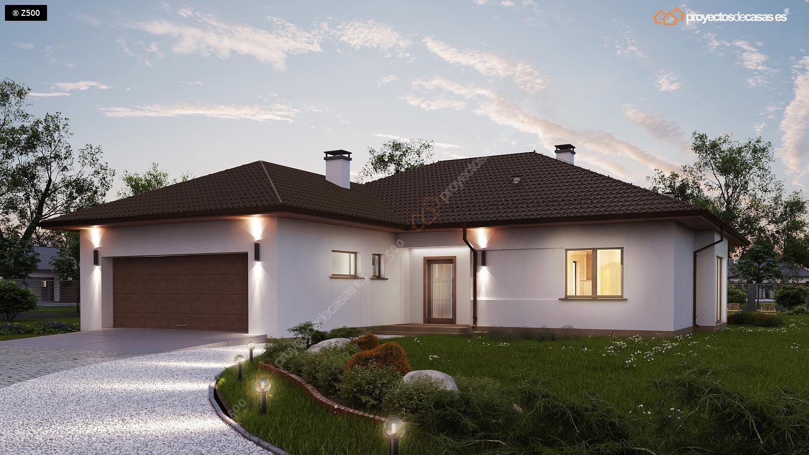 Proyectos de casas casa tradicional proyectosdecasas for Casas con planos y fotos