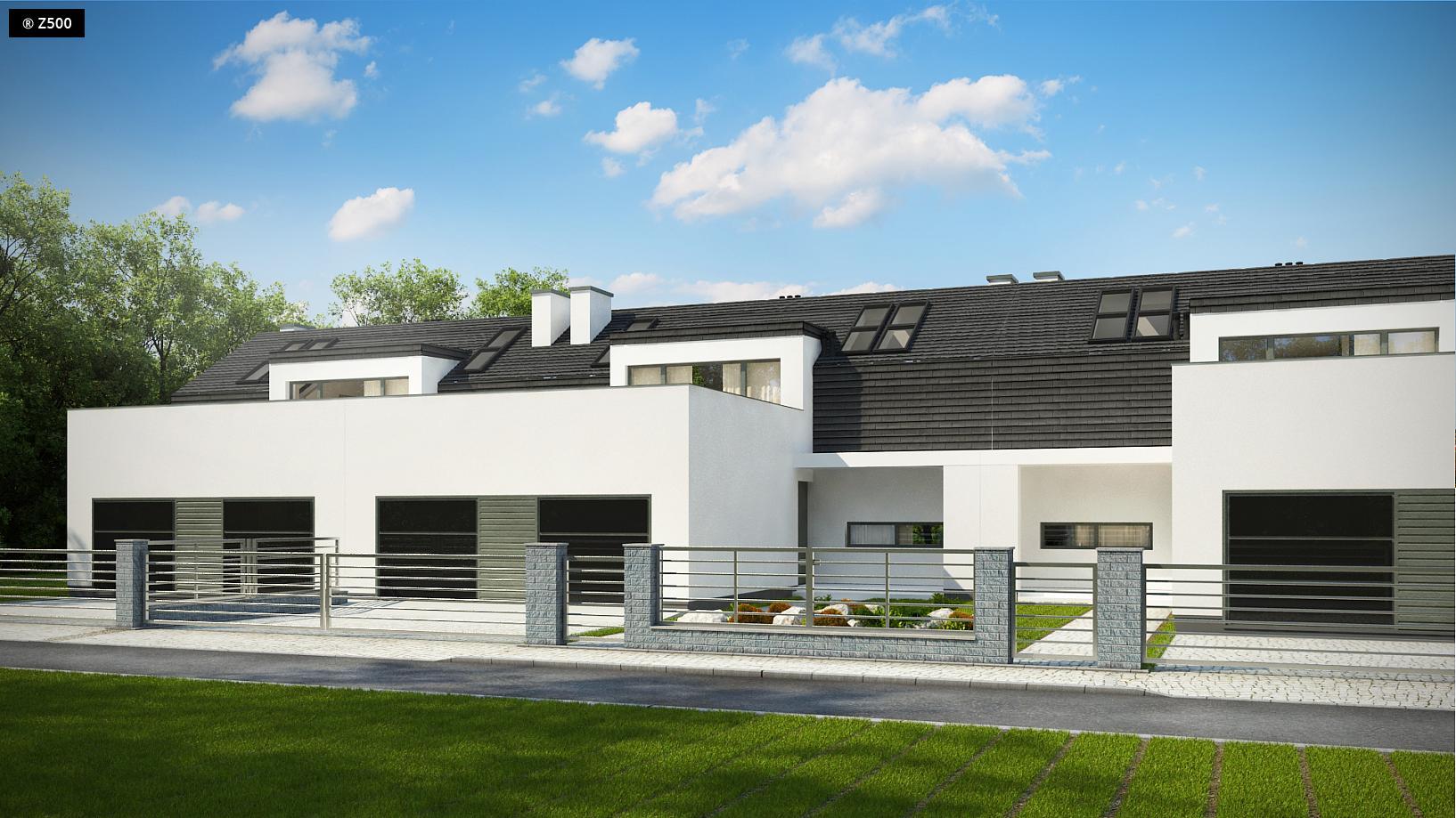 Proyectos De Casas Casa Adosada De Dise 241 O