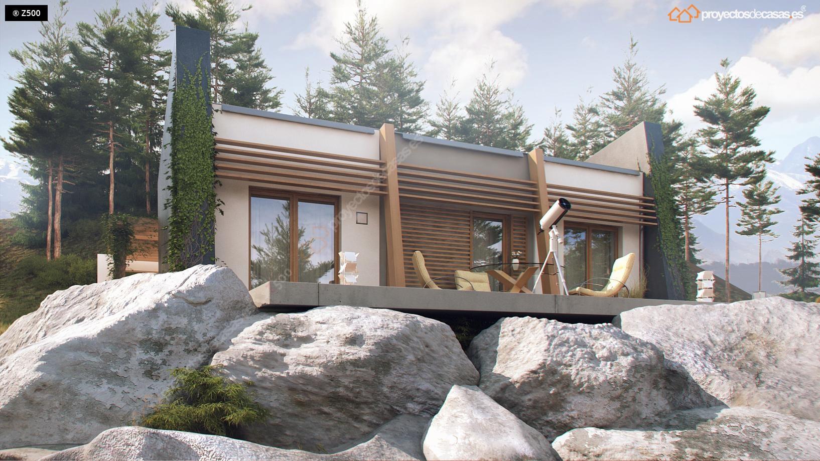 Proyectos De Casas Casa De Dise O De 1 Planta Con
