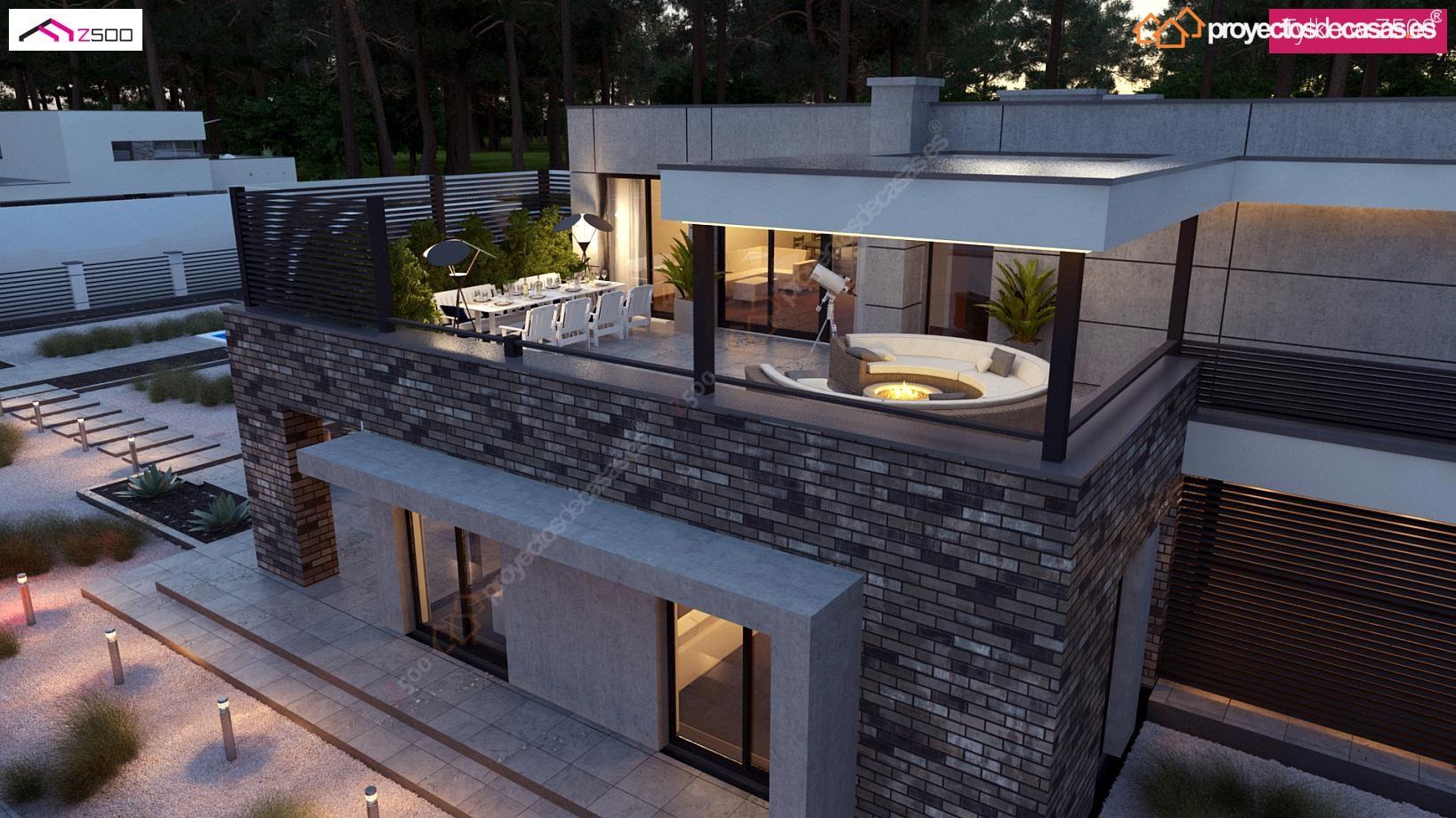 Casas modernas casa murcia for Casa moderna espana