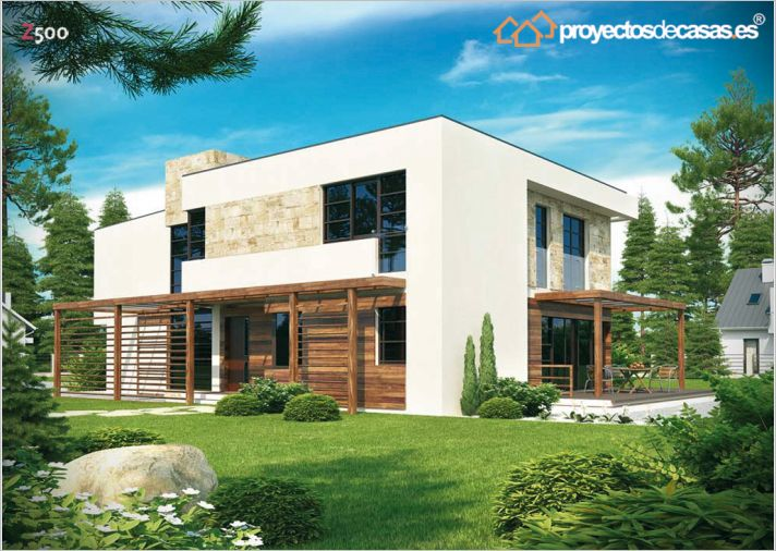 Empresas constructoras de casa lena estilo contempor neo for Constructoras de casas