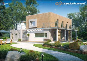 Proyectos de casas casa moderna proyectosdecasas - Aparejadores valencia ...