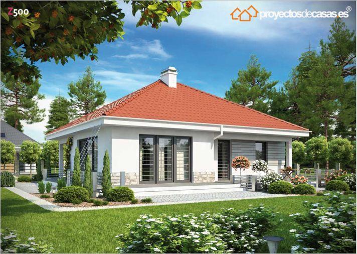 Proyectos de casas casa tradicional proyectosdecasas - Casas americanas en espana ...