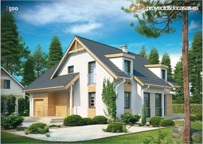 Empresas constructoras de casa g llego estilo de madera for Constructoras de viviendas