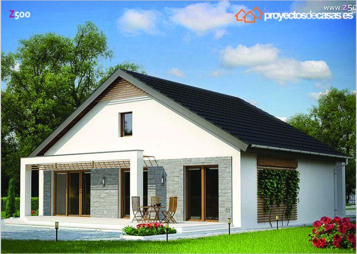 Variantes de casa cornell estilo r stico proyectos de - Casa en cornella ...