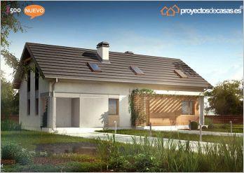Variantes de casa gand a estilo contempor neo - Casas de madera gandia ...