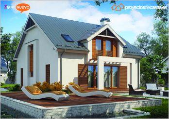 Proyectos de casas casa moderna proyectosdecasas - Constructoras en valladolid ...