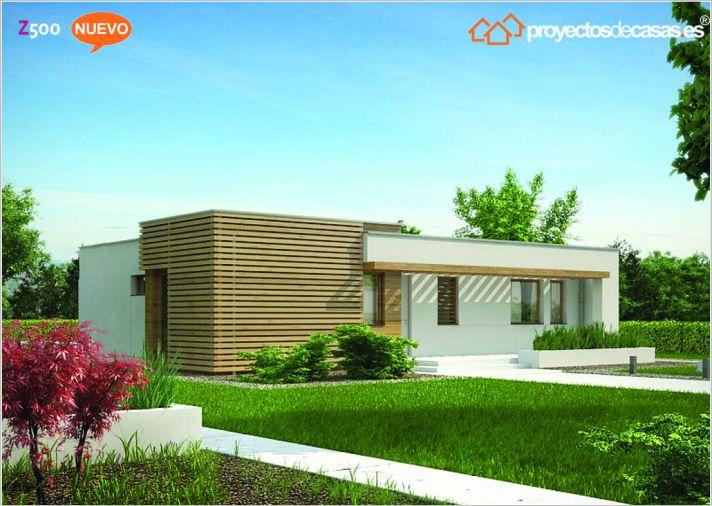 Ficha y planos de casa mijas estilo contempor neo - Proyectos casas unifamiliares ...