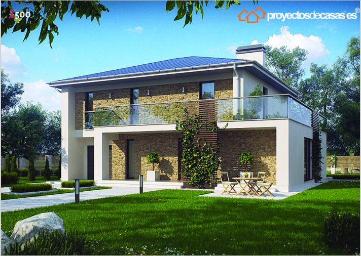 Ficha y planos de casa vila estilo contempor neo for Casas decoradas estilo contemporaneo