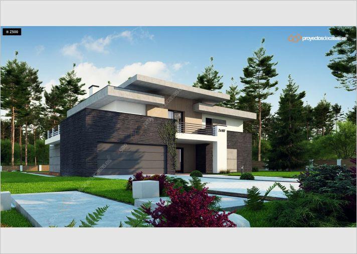 Proyectos De Casas Casa De Dise O Moderna Con Piscina