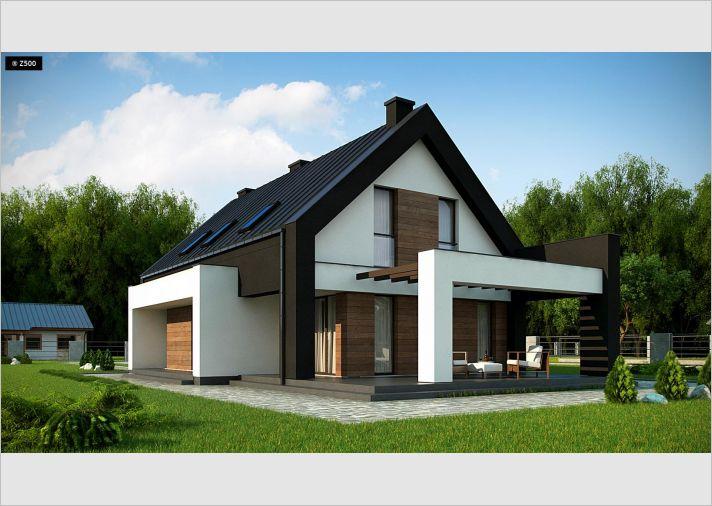 Proyectos de casas casa navacerrada de dise o moderna for Casa minimalista 2 dormitorios