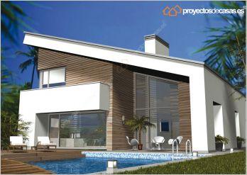 Descubre casa unifamiliar moderna casa lux for Proyectos de casas modernas